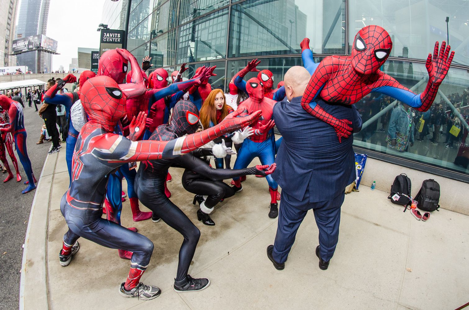 Legendary Costumes in Stan Lee's LA Comic Con